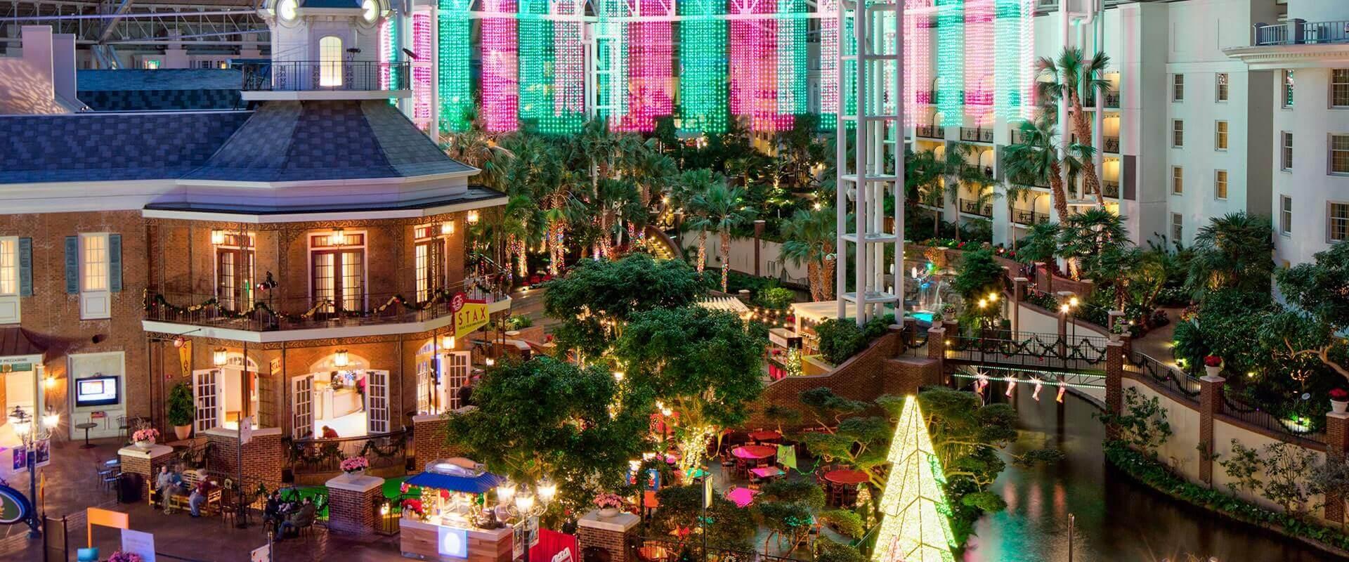 Gaylord Opryland Nashville Delta Atrium Christmas